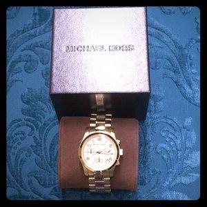 Michael Kors Goldtone Bracelet Watch